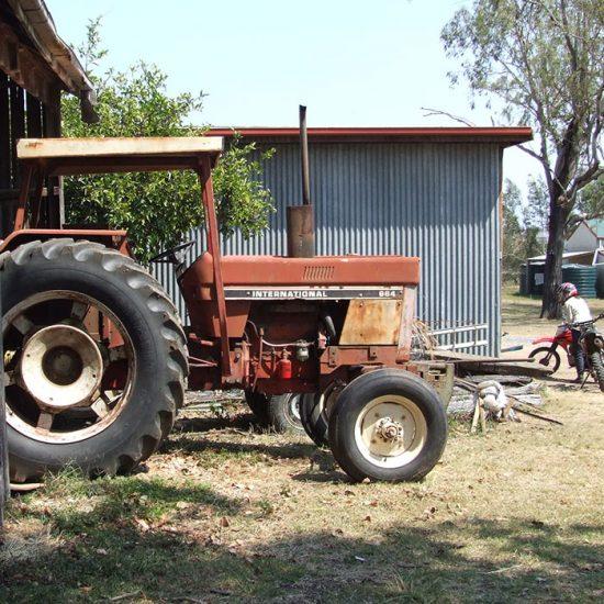 Traktor in Austrlien